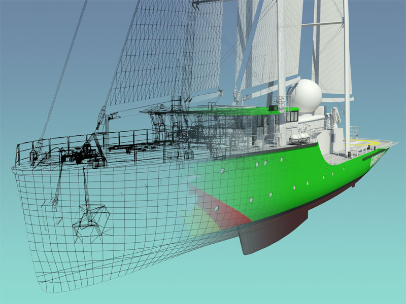 Rainbow Warrior Design