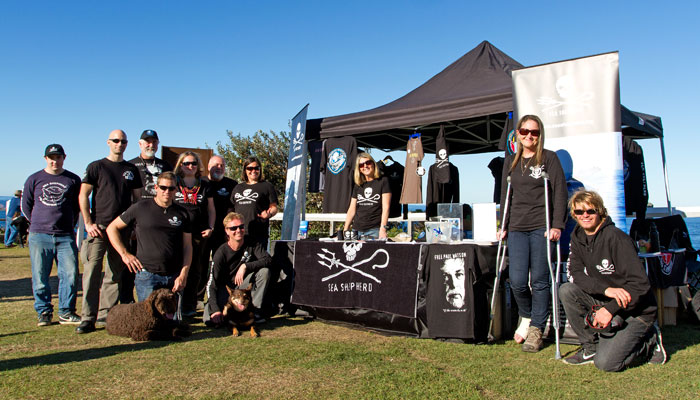 Great to see everyone from Sea Shepherd. Love your work - keep up the good fight!